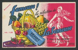 Buvard - Fameuse La Semeuse - Buvards, Protège-cahiers Illustrés