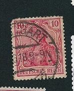 N° 86 Deutsches Reich   Timbre Allemagne Empire Reich (1915) Oblitéré - Germany