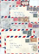 CUBA Lot De 9 Lettres A SAISIR !!! Ambassade D'Espagne à La Havane - Collections, Lots & Séries