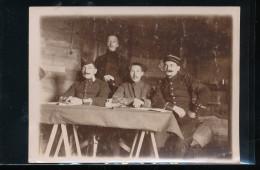 Photo  A Identifier  -- Fevrier 1915 - Guerre, Militaire
