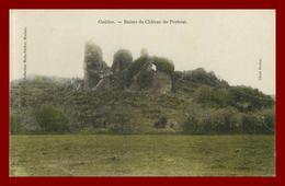 Dept 29 Guiclan * Ruines Du Chateau De Penhoat ( Scan Recto Et Verso) - France