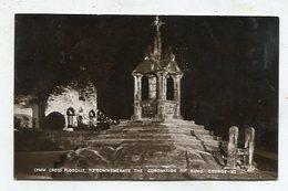 ENGLAND  - AK298167 Lymm Cross Floodlit, To Commemorate The Cronation Of King George XI - Engeland