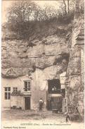 Dépt 60 - GOUVIEUX - Entrée Des Champignonnières - (habitations Troglodytiques) - Gouvieux