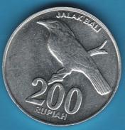 INDONESIA 200 RUPIAH 2003 ANIMAL JALAK BALI KM# 66 - Indonesia