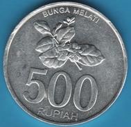 INDONESIA 500 RUPIAH 2003 BUNGA MELATI KM# 67 - Indonésie