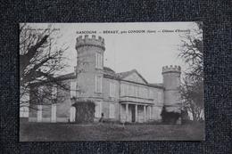 GASCOGNE BERAUT Près CONDOM, Château D'Ensoules. - Condom