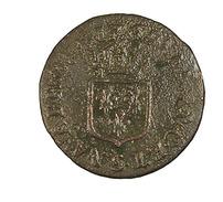 Liard - Louis XV - France - 1709 S   -  B+ - Cuivre -  2,75 Gr. - 987-1789 Royal