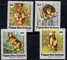 A5710 PAPUA NEW GUINEA 1994, SG 700-3 Matschie's (Huon Gulf) Tree Kangaroo,  MNH - Papúa Nueva Guinea