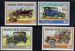A5711 PAPUA NEW GUINEA 1994, SG 725-8  Historical Cars,  MNH - Papúa Nueva Guinea