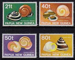A5726 PAPUA NEW GUINEA 1991, SG 632-5  Land Shells,  MNH - Papúa Nueva Guinea