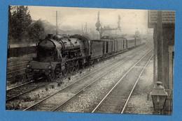 94 Pres De Maisons Alfort Ligne Saint Etienne  Paris Locomotive Pacific 231 D (carte Format 9 X 14) Chemin De Fer - Trains