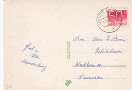 Ansicht 17 Dec 1984 Alphen A/d Rijn (type CB) - Postal History