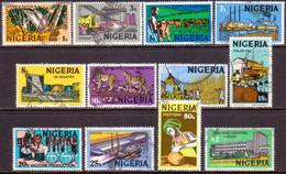 NIGERIA 1975-82 SG #338//54 Part Set Used Only 2k Missing Wmk NIGERIA - Nigeria (1961-...)