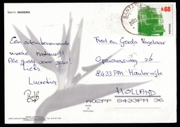Portugal: PPC Picture Postcard To Netherlands, 2009, 1 Stamp, Old Bus, Transport, Card: Madeira (traces Of Use) - Briefe U. Dokumente