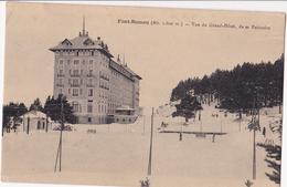 66 -FONT ROMEU - Vue Du Grand-Hôtel, De Sa Patinoire - Autres Communes