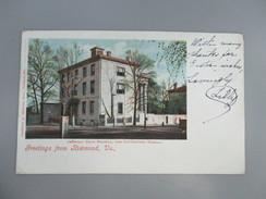 CPA ETATS UNIS RICHMOND JEFFERSON DAVIS MANSION MUSEUM - Richmond
