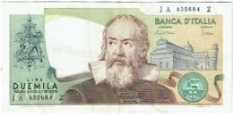Billet : 2000 LIRE Duemila. Banca D'Italia. 1983. - [ 2] 1946-… : Républic