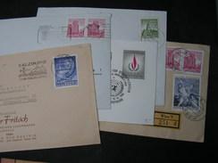 Österreich , 5  Briefe - Briefmarken