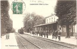 Dépt 60 - LIANCOURT - La Gare - (train) - Liancourt