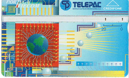 PHONECARDS-- PORTUGAL-- OPTICAL- 20 U-- TELEPAC - Portugal