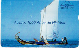 PHONECARDS-- PORTUGAL-- OPTICAL- 50 U-- AVEIRO, 1000 ANOS HISTORIA - Portugal