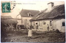 CHAUMIERE CHAMPENOISE - CAMP DE MAILLY - Autres Communes