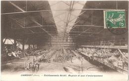 Dépt 60 - LIANCOURT - Établissements Bajac - Magasin Et Quai D'embarquement - (charrues, Matériels De Culture) - Liancourt