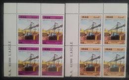 V25 - Iraq 1989 SG 1875/1876 Complete Set 3v. MNH Reconstruction Of FAO City - Blks/4 - Cv 33$ - Yemen