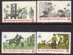 USA 1973 Bicentennial, Colonial Communications Set Of 4, MNH (SG 1481/4) - Vereinigte Staaten