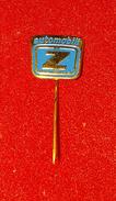 ZASTAVA AUTOMOBILI, EX YUGOSLAVIA, ORIGINAL VINTAGE PIN BADGE - Badges