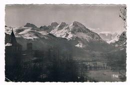 GENOST  65  Vue Clocher De L'église A Gauche .vallée Du Louron En 1957 - Frankreich
