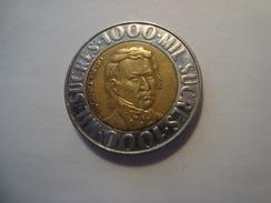 MONNAIE EQUATEUR 1000 SUCRES 1996