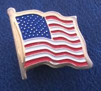 United States, USA, Flag, Banner - Badges