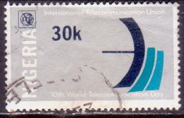 NIGERIA 1978 SG #380 30k Used Telecommunications Day - Nigeria (1961-...)