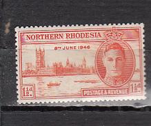 RHODESIE DU NORD * YT N° 38 - Rhodésie Du Nord (...-1963)