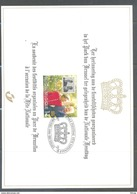 HK 2828HK  HERDENKINGSKAART KONING ALBERT II EN KONINGIN PAOLA 1999 - Cartes Souvenir