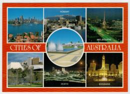 CITY  OF  AUSTRALIA     2  SCAN      (VIAGGIATA) - Australia