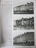 La Reconstruction  Place D Arras   1914 1918 1924  Japon   Parc UYENO Théatre Osaka  Filatures De Coton De   KIshiwada - Vieux Papiers