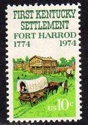 USA 1974 1st Kentucky Settlement, Fort Harrod, MNH (SG 1540) - Vereinigte Staaten