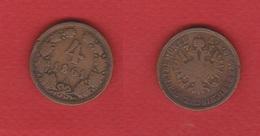Autriche  --  4  Kreuzer 1861 A  --  état  TB - Autriche