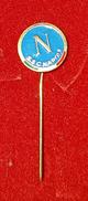 SSC NAPOLI ITALIA ITALY VINTAGE PIN BADGE - Football