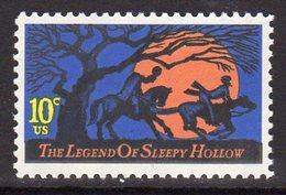 USA 1974 The Legend Of Sleepy Hollow, Washington Irvine, MNH (SG 1546) - Vereinigte Staaten