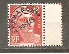 France PREO Y&T 103 A Neuf ** Marianne De Gandon   BORD DE FEUILLE - 1893-1947