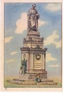 SWITZERLAND - NESTLE 'S PICTURE STAMP / CARD / LABEL - WONDERS OF THE WORLD - ARCHITECTURE, A VOLTA LA PATRIA - Advertising