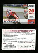 19) Ricarica Tim - MotoGP 2010 Da 20 Euro Scad. Agosto 2012 - ( Ricariche Recharges Aufladkarten Refills Recargos ) - Schede GSM, Prepagate & Ricariche