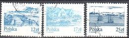 Poland 1982 - Old Town On The Vistula River - Mi 2833-35 - Used - 1944-.... Republic