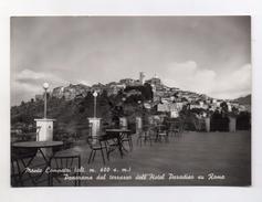 Monte Compatri (Roma) - Panorama Dal Terrazzo Dell'Hotel Paradiso Su Roma - Viaggiata Nel 1959 - (FDC4201) - Italia