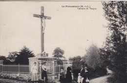 LA POMMERAYE Calvaire De Vaujou ( Croix Christ ) - Other Municipalities