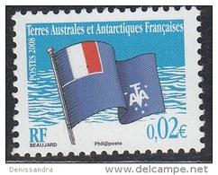 TAAF 2008 Yvert 495 Neuf ** Cote (2015) 0.20 Euro Drapeau Des TAAF - Terres Australes Et Antarctiques Françaises (TAAF)