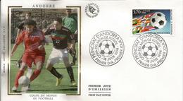 ANDORRA.  Coupe Du Monde Aux Etats-Unis 1994.  émission FDC D'Andorre - 1994 – Estados Unidos